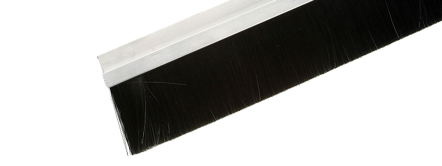 Heavy Duty Brush Draught Excluder For Garages