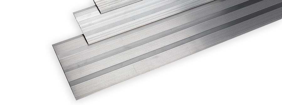 Metal Flooring Cover Plate Profiles For Bridging Gaps