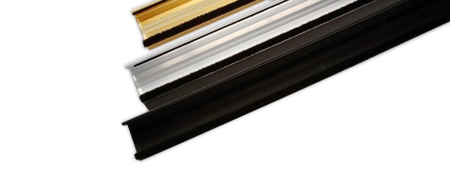 Double Sealing Metal Door Sill For Inward Opening External