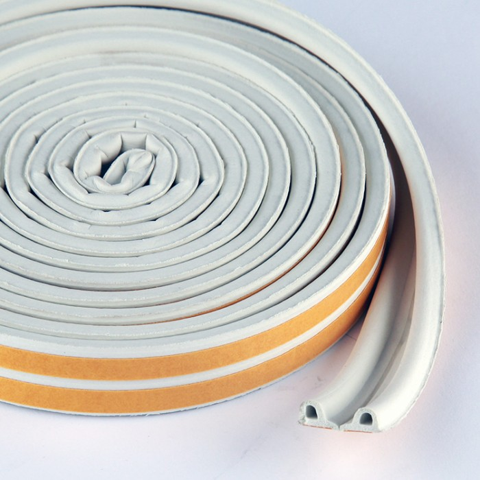 Rubber Draught Proofing Self Adhesive Seal for Door & Window Frames